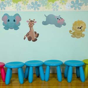 Zoo Babies Stools 300 Pixels