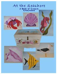 At the Seashore Stencil Book from www.all-about-stencils.com