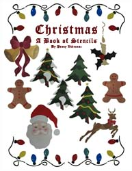 Christmas Stencils Book from All-About-Stencils.com