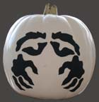 Stenciled Pumpkin from www.all-about-stencils.com