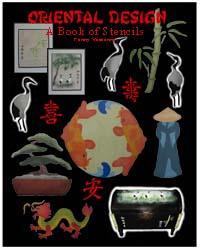 Oriental Designs Book of Stencils from www.all-about-stencils.com