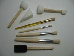 Paint Applicators from www.all-about-stencils.com