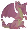 Dragon Stencil from www.all-about-stencils.com