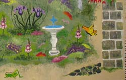 Garden Rug Stencils from All-About-Stencils.com