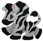 Zebra Baby Stencil from www.all-about-stencils.com