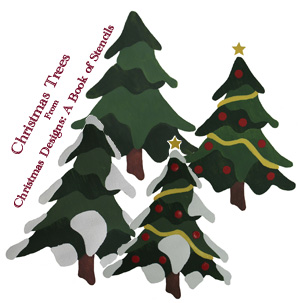 Christmas Tree Stencils from www.all-about-stencils.com