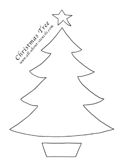 All About Stencils   images freestencilchristmastree on free paper christmas stocking pattern