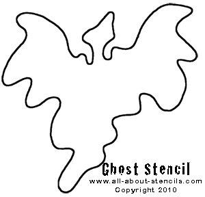 Ghost Stencil from www.all-about-stencils.com