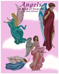 Angels Stencil Book from www.all-about-stencils.com