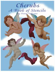 Cherubs Book of Stencils from www.all-about-stencils.com