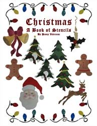 Christmas Stencil Book from www.all-about-stencils.com