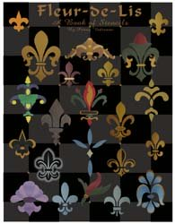 Fleur de lis Book of Stencils from All-About-Stencils