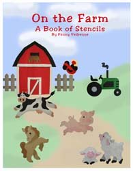Farm Animal Stencils Book from All-About-Stencils.com
