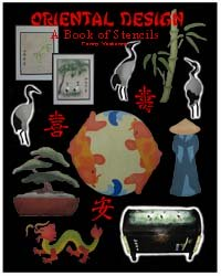 Oriental Stencil Book from www.all-about-stencils.com