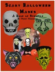 Scary Halloween Mask Stencil Book from www.all-about-stencils.com