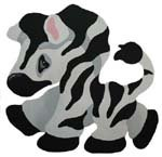 Zebra Baby Stencil from www.all-about-stencils.com