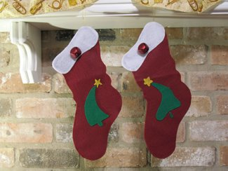 Christmas Stocking from All-About-Stencils