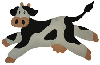 Multi Layer Cow Stencil from www.all-about-stencils.com