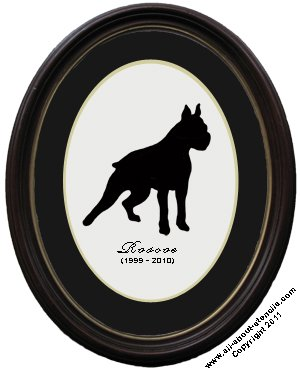 Dog Stencil Portrait from www.all-about-stencils.com