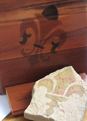Stenciled Floor Samples from All-About-Stencils.com